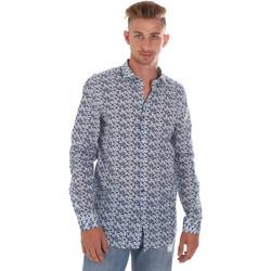 Textil Muži Košile s dlouhymi rukávy Sseinse CE508SS Modrý