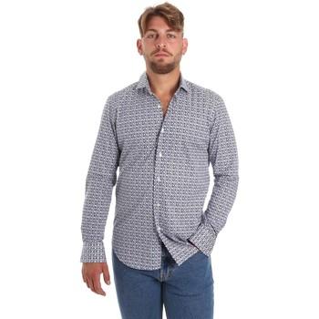 Textil Muži Košile s dlouhymi rukávy Betwoin SELZ 6635535 Modrý