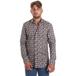 Textil Muži Košile s dlouhymi rukávy Betwoin DIONISIOÙ Bílý