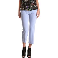 Textil Ženy Tříčtvrteční kalhoty Gaudi 811FD25026 Modrý