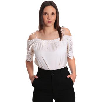 Textil Ženy Halenky / Blůzy Gaudi 811FD45011 Béžový