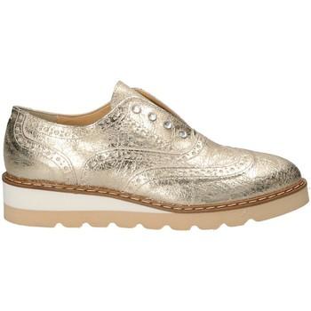 Boty Ženy Šněrovací společenská obuv Grace Shoes 1796 Žlutá