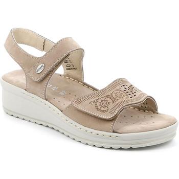 Boty Ženy Sandály Grunland SA2580 Béžový