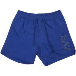 Textil Muži Plavky / Kraťasy Ea7 Emporio Armani 902000 0P738 Modrý