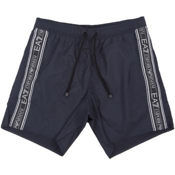 Textil Muži Plavky / Kraťasy Ea7 Emporio Armani 902000 0P734 Modrý
