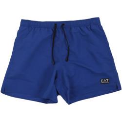 Textil Muži Plavky / Kraťasy Ea7 Emporio Armani 902000 0P730 Modrý