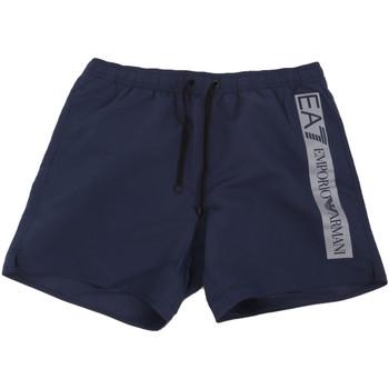 Textil Muži Plavky / Kraťasy Ea7 Emporio Armani 902000 0P732 Modrý
