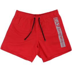 Textil Muži Plavky / Kraťasy Ea7 Emporio Armani 902000 0P732 Červené