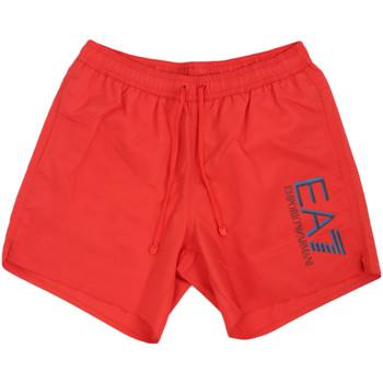 Textil Muži Plavky / Kraťasy Ea7 Emporio Armani 902000 0P738 Červené