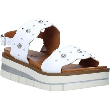 Boty Ženy Sandály Grunland SA2545 Bílý