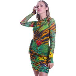 Textil Ženy Krátké šaty Versace D2HVB495S0782983 Černá