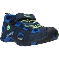 Boty Děti Sandály Lotto L49353 Modrý