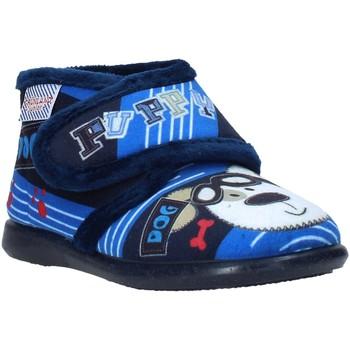 Boty Děti Papuče Grunland PA0623 Modrý