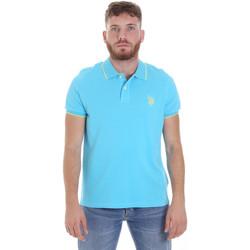 Textil Muži Polo s krátkými rukávy U.S Polo Assn. 58561 41029 Modrý
