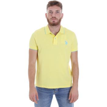 Textil Muži Polo s krátkými rukávy U.S Polo Assn. 58561 41029 Žlutá