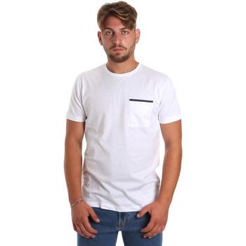 Textil Muži Trička s krátkým rukávem Antony Morato MMKS01798 FA100212 Bílý