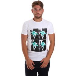 Textil Muži Trička s krátkým rukávem Antony Morato MMKS01743 FA120001 Bílý