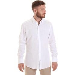 Textil Muži Košile s dlouhymi rukávy Les Copains 20P.689 P700SL Bílý