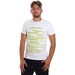 Textil Muži Trička s krátkým rukávem Antony Morato MMKS01749 FA120001 Bílý