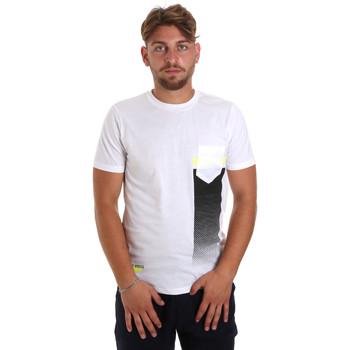 Textil Muži Trička s krátkým rukávem Antony Morato MMKS01794 FA100189 Bílý