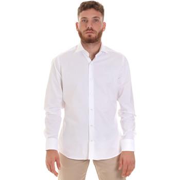 Textil Muži Košile s dlouhymi rukávy Les Copains 000.076 P3196 Bílý
