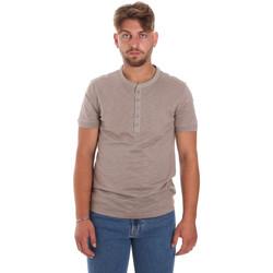 Textil Muži Trička s krátkým rukávem Antony Morato MMKS01725 FA100139 Hnědý