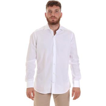 Textil Muži Košile s dlouhymi rukávy Les Copains 000.006 P3196SL Bílý