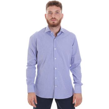 Textil Muži Košile s dlouhymi rukávy Les Copains 20P.621 P3196SL Modrý