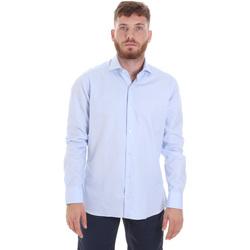 Textil Muži Košile s dlouhymi rukávy Les Copains 20P.887 P3196SL Modrý
