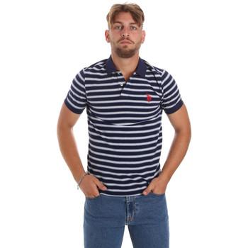Textil Muži Polo s krátkými rukávy U.S Polo Assn. 56336 52802 Modrý
