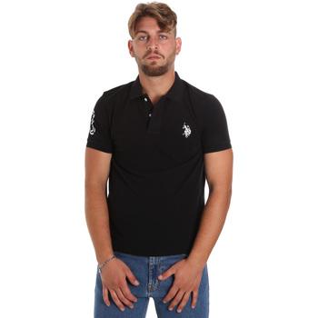 Textil Muži Polo s krátkými rukávy U.S Polo Assn. 55985 41029 Černá