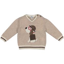 Textil Děti Svetry Melby 20B2130 Béžový