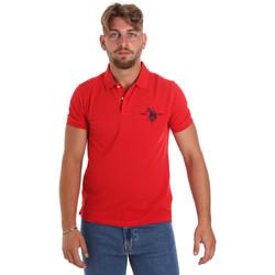 Textil Muži Polo s krátkými rukávy U.S Polo Assn. 55959 41029 Červené