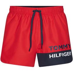 Textil Muži Plavky / Kraťasy Tommy Hilfiger UM0UM01683 Červené