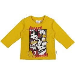 Textil Děti Trička s dlouhými rukávy Melby 20C2040DN Žlutá