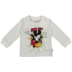 Textil Děti Trička s dlouhými rukávy Melby 20C2101DN Bílý