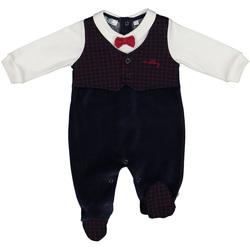 Textil Děti Overaly / Kalhoty s laclem Melby 20N0020 Modrý