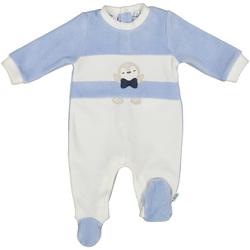 Textil Děti Overaly / Kalhoty s laclem Melby 20N0130 Modrý