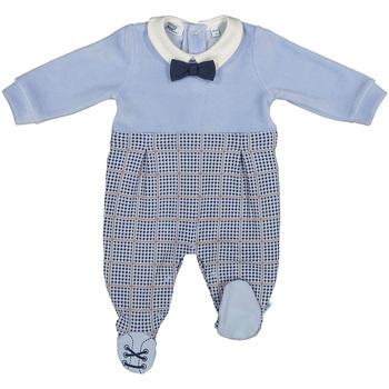 Textil Děti Overaly / Kalhoty s laclem Melby 20N0140 Modrý
