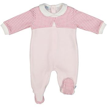 Textil Děti Overaly / Kalhoty s laclem Melby 20N0231 Růžový