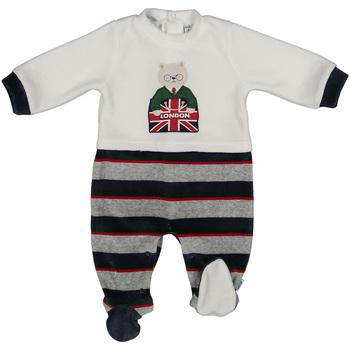 Textil Děti Overaly / Kalhoty s laclem Melby 20N0570 Modrý