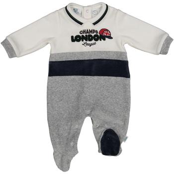 Textil Děti Overaly / Kalhoty s laclem Melby 20N0600 Šedá