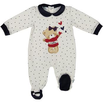 Textil Děti Overaly / Kalhoty s laclem Melby 20N0681 Bílý