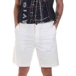 Textil Muži Kraťasy / Bermudy Navigare NV56031 Bílý