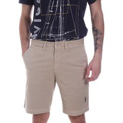 Textil Muži Kraťasy / Bermudy U.S Polo Assn. 57319 49492 Béžový