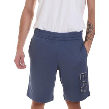 Textil Muži Kraťasy / Bermudy Ea7 Emporio Armani 3HPS73 PJ05Z Modrý