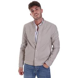 Textil Muži Bundy Gaudi 011BU38005 Šedá