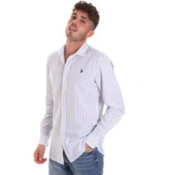 Textil Muži Košile s dlouhymi rukávy U.S Polo Assn. 58829 52741 Modrý