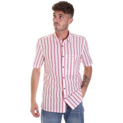 Textil Muži Košile s krátkými rukávy Antony Morato MMSS00154 FA420084 Červené