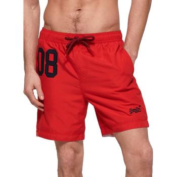 Textil Muži Plavky / Kraťasy Superdry M3010008A Červené